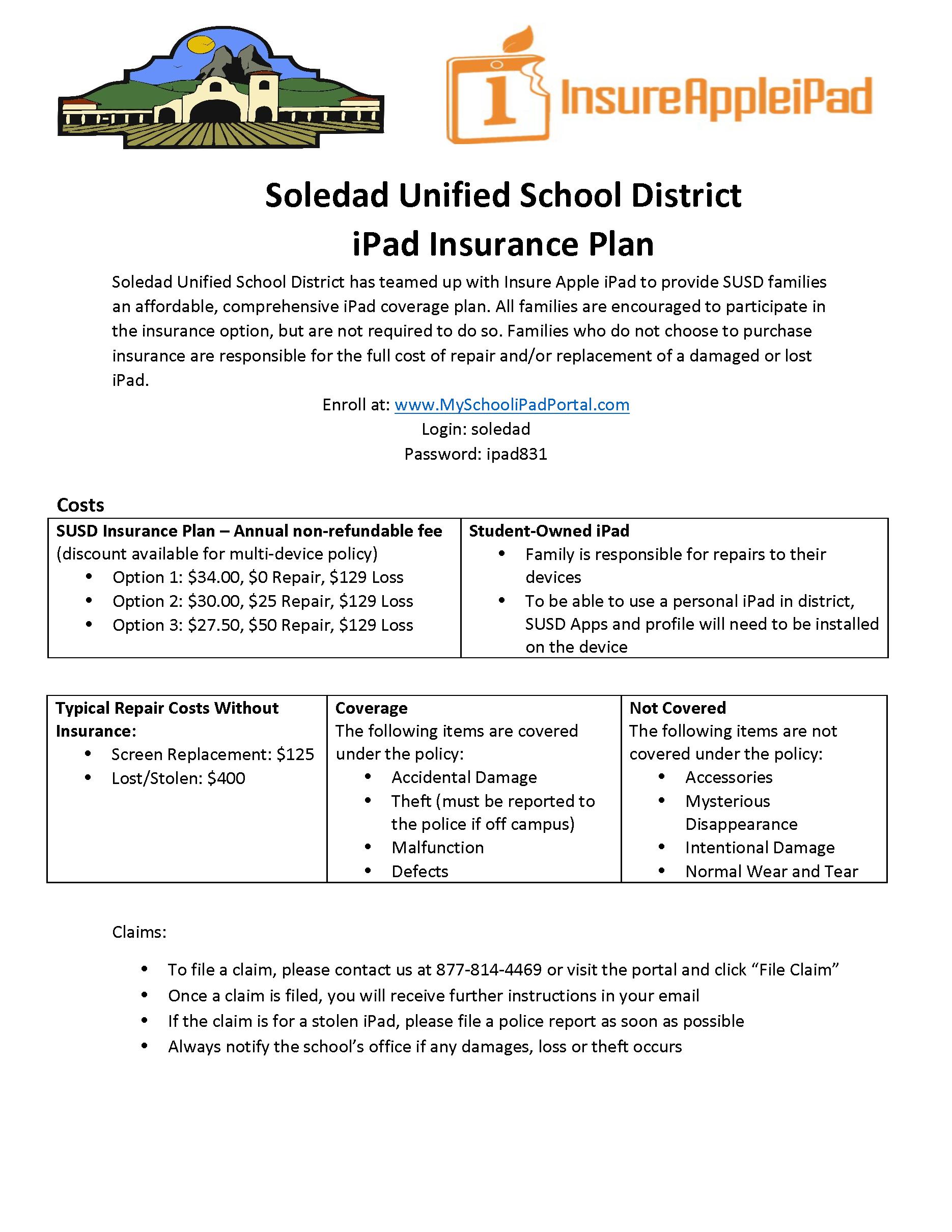 Soledad Unified School District Form (2)